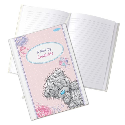 Personalised Me to You Hard Back A5 Notebook